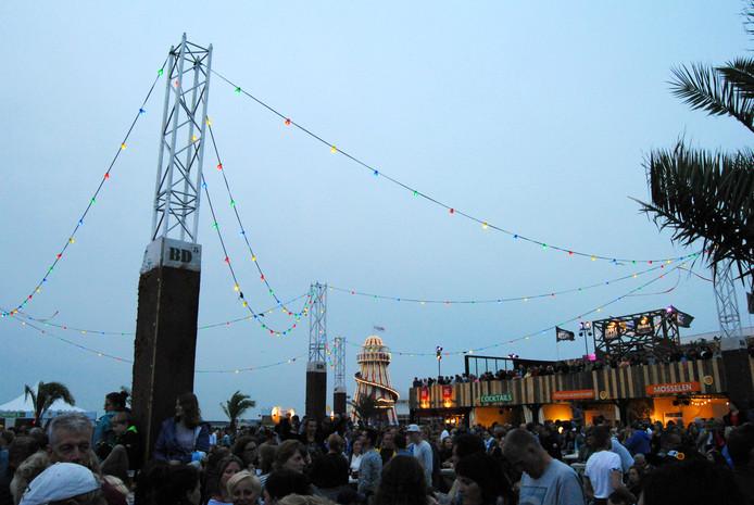 De avond valt op Concert at Sea.