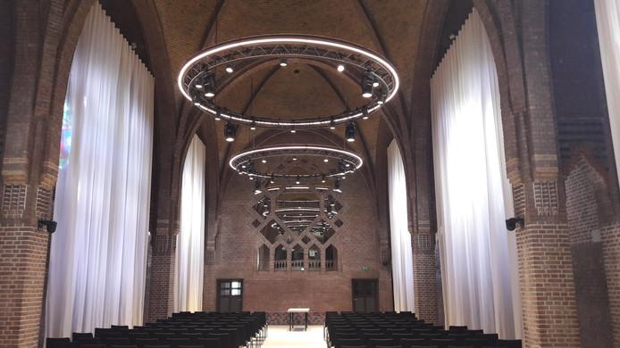 DOMUSDELA, voormalig Mariënhage in Eindhoven, de kapel.