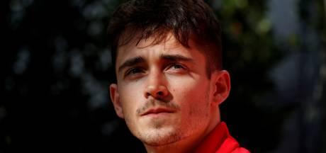 Leclerc scheurt door straten van Monaco voor filmopnames: 'Dit was geweldig'
