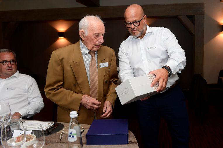 Bart Verhaeghe en André Piccu.