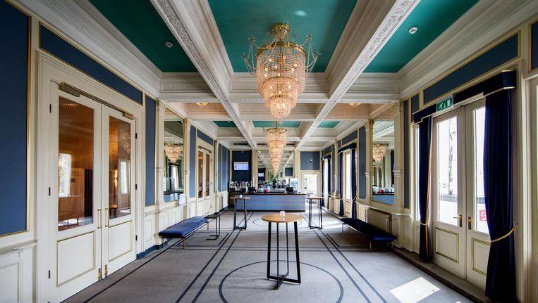 De Logge Foyer op de eerste verdieping van Carré zal eerst onder handen worden genomen Beeld Jean Pierre Jans