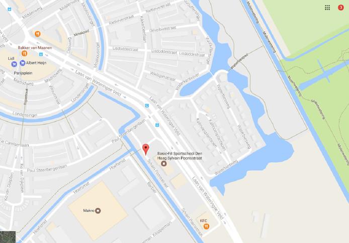 De locatie waar de schietpartij vannacht gebeurde.