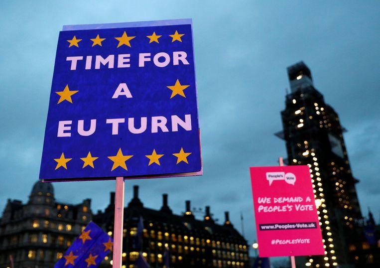De brexit die uiteindelijk gewoon niet doorgaat? Weinig waarschijnlijk maar niet onmogelijk.