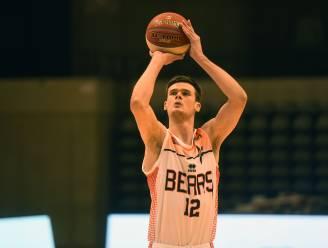 """Thibault Vanderhaegen oefent met Leuven Bears tegen Okapi: """"Mijn speelminuten op het veld verdienen"""""""
