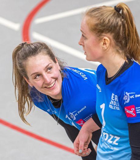 Regio Zwolle Volleybal heeft na lastige maanden weer een helder doel voor ogen