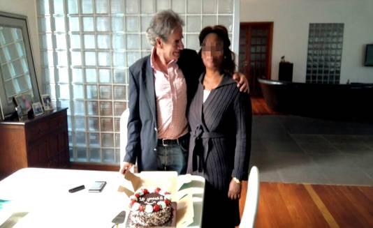 Tob Cohen met zijn echtgenote Sarah in gelukkiger tijden.