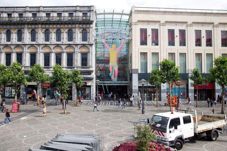 De Place Saint-Lambert in Luik.