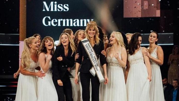Leonie Charlotte von Hase, 35 ans, est la première mère élue Miss Allemagne.