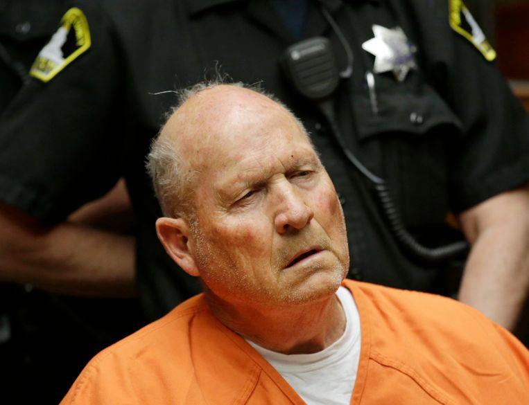 James Joseph DeAngelo( 72), de zogenaamde 'Golden State Killer'.