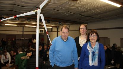 Buurtbewoners geven op eigen infoavond 'tegenwind' voor windmolen