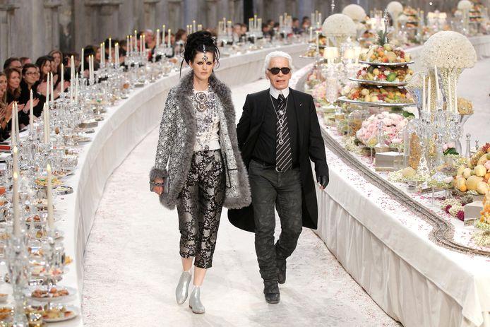 Tennant en Karl Lagerfeld.
