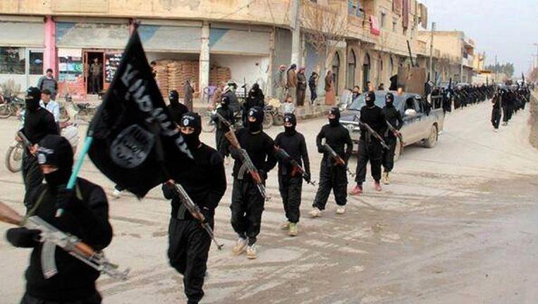 Strijders van IS in Irak