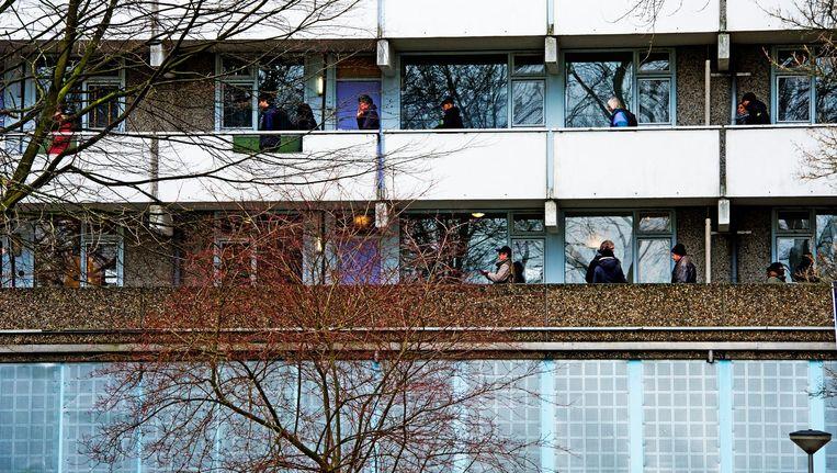 De flat Kleiburg in de Bijlmer. Beeld anp