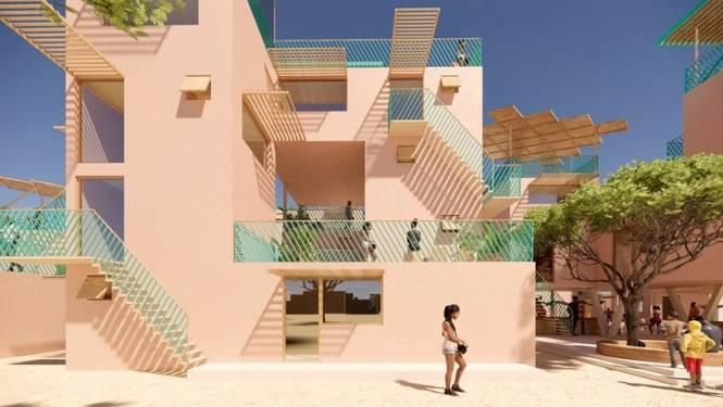 Belgische architect gaat huizen van plastic bouwen