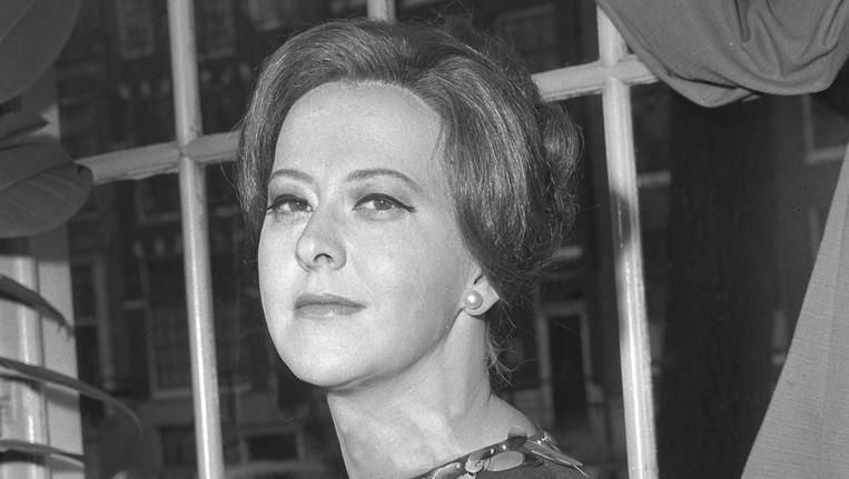 Dora van der Groen in 1967 Beeld Paul Dijkstra