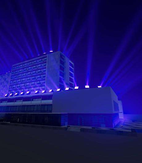 Project op Pullmanhotel Cocagne in Eindhoven vanuit Helmond te zien