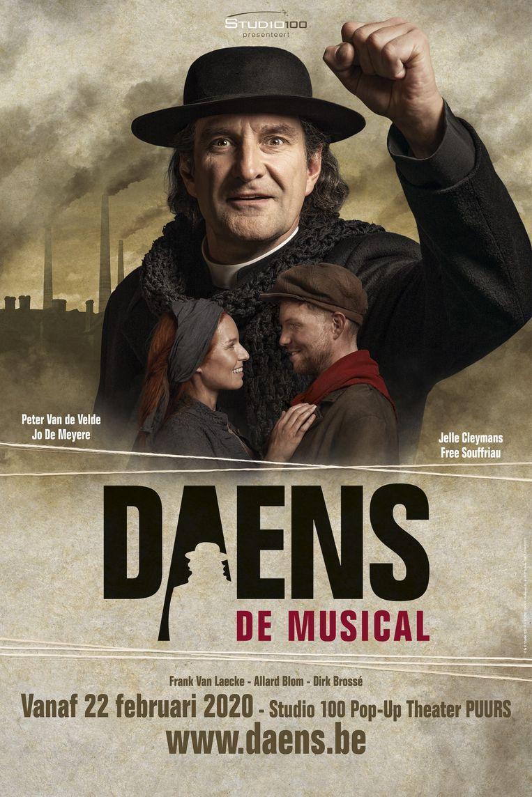 Studio 100 brengt in Puurs-Sint-Amands een nieuwe versie van Daens