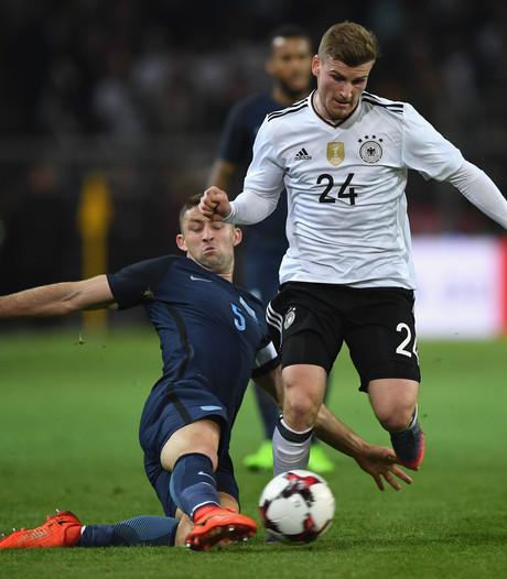 Leipzig-topschutter Werner scheurt spier bij interlanddebuut