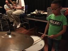 Tilburgse kinderen op Grote Muziekreis