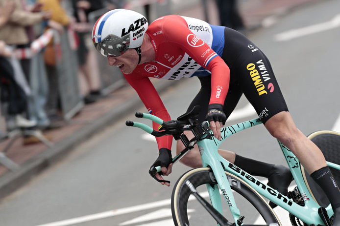 Jos van Emden eindigde als derde.