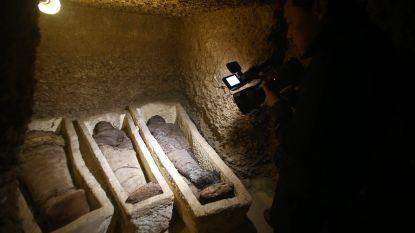 Grafkamers met veel mummies gevonden in Egypte
