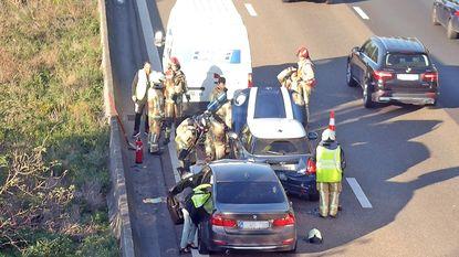 Veel hinder na ongeval op E17