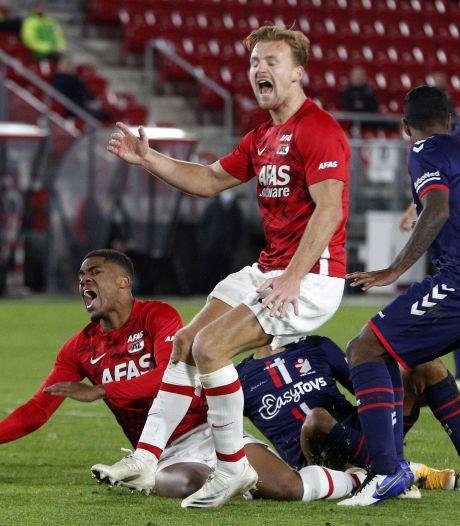AZ slaat slag met moeizame winst op kansrijk tiental FC Emmen