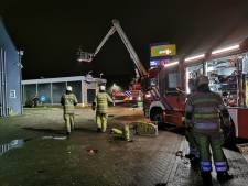 Autowasstraat vat vlam in Amersfoort