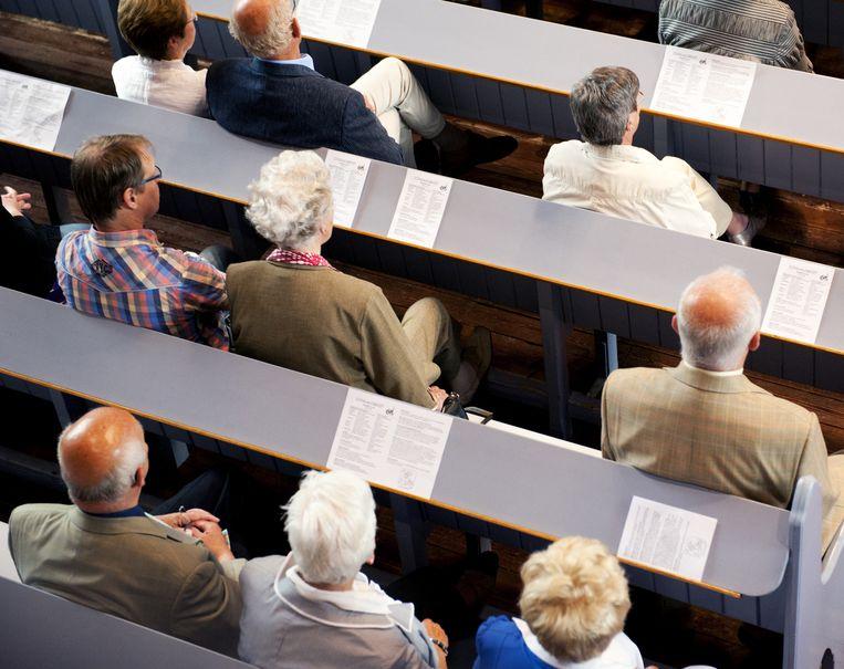 De kerk kampt met krimp en vergrijzing. Tegelijkertijd proberen de gelovigen met tal van experimentele 'pioniersplekken' de kerk nieuw elan te geven Beeld anp