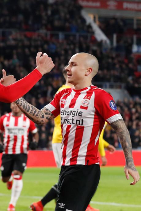 Angelino en De Jong leiden in PSV-klassement van het ED
