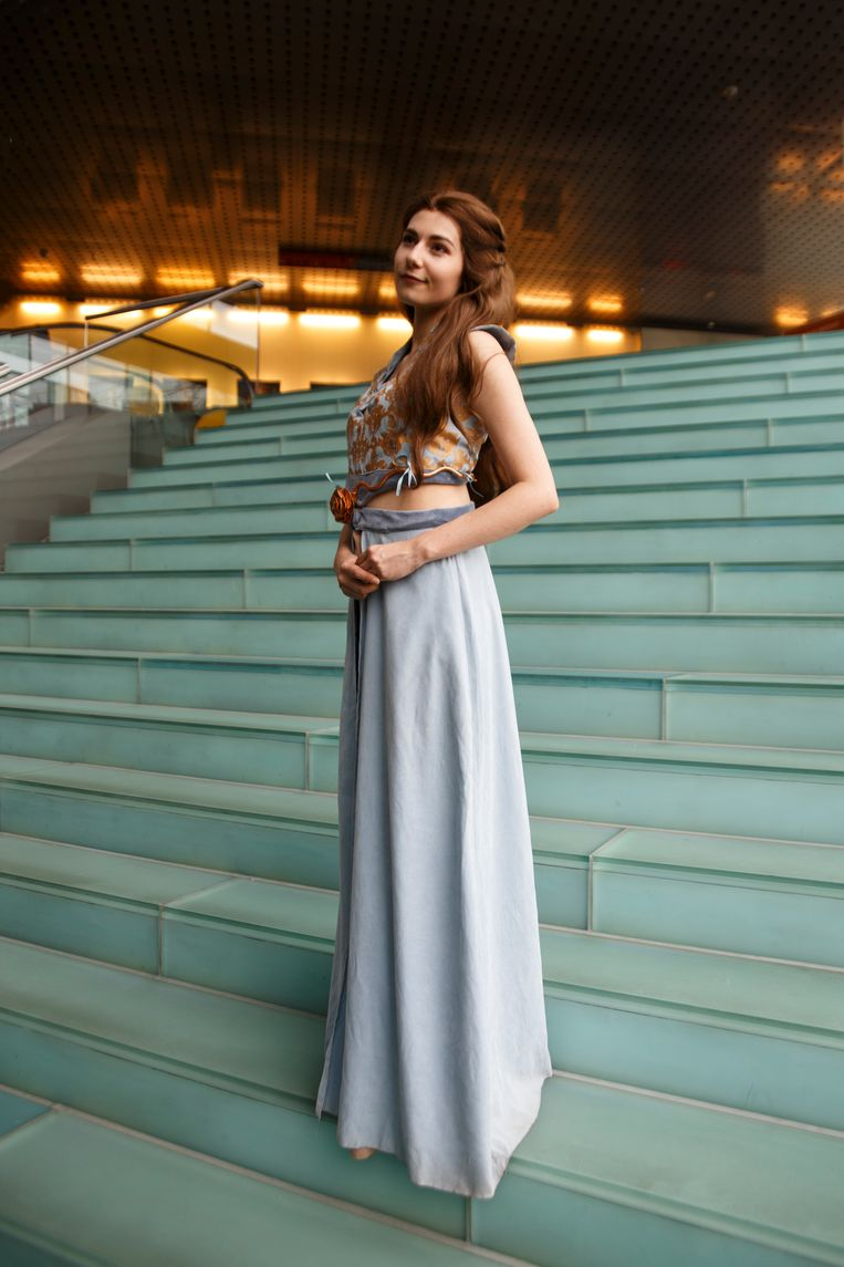 Anouck Vos (25) als Margaery Tyrell. Beeld Carly Wollaert
