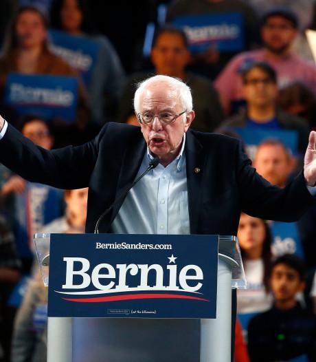 Sanders kan macht grijpen bij zwabberende Democraten