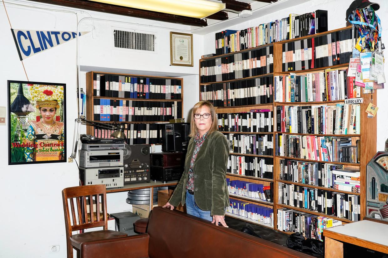 Chris Hegedus in haar studio in New York. Beeld null