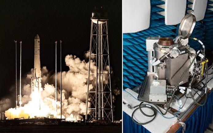 Het toilet werd afgelopen nacht gelanceerd naar het ISS.