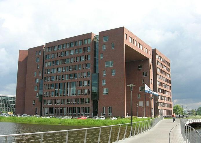 Het hoofdgebouw van de Universiteit Wageningen