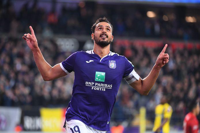 Nacer Chadli a porté Anderlecht, deuxième victoire consécutive pour les Mauves.