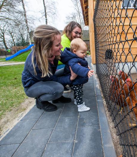 Honderden bezoekers open dag agrarische kinderopvang in Valkenswaard
