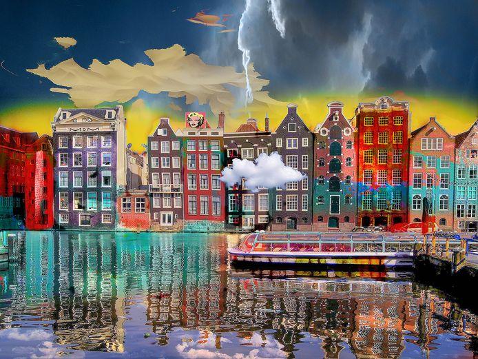 Amsterdam View Opus van Geert Lemmers.
