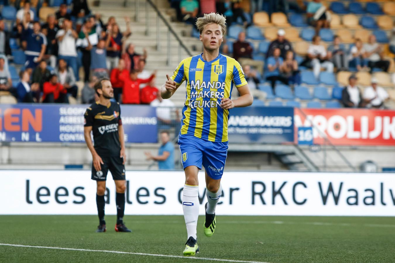 Feyenoord-huurling Emil Hansson bezorgde RKC een nipte overwinning op Telstar.