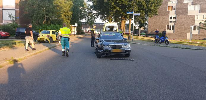 Schade aan een van de voertuigen