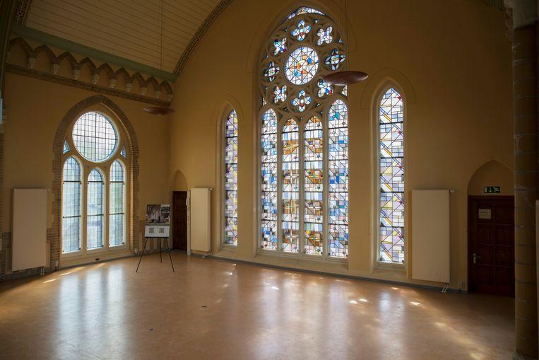 In de Josephkerk komen negen luxe appartementen. Beeld Werry Crone