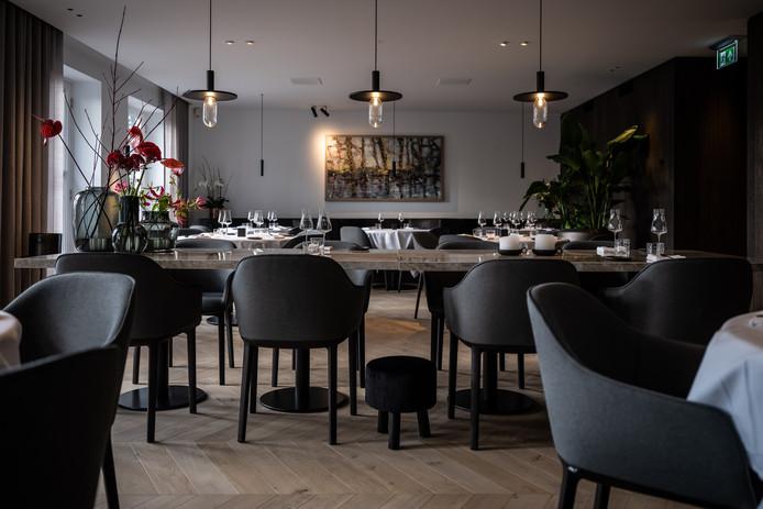 Het restaurantgedeelte op de eerste verdieping van Alma in Oisterwijk