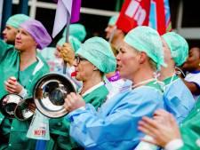 Beatrixziekenhuis in Gorinchem voert actie voor beter cao met ludieke acties