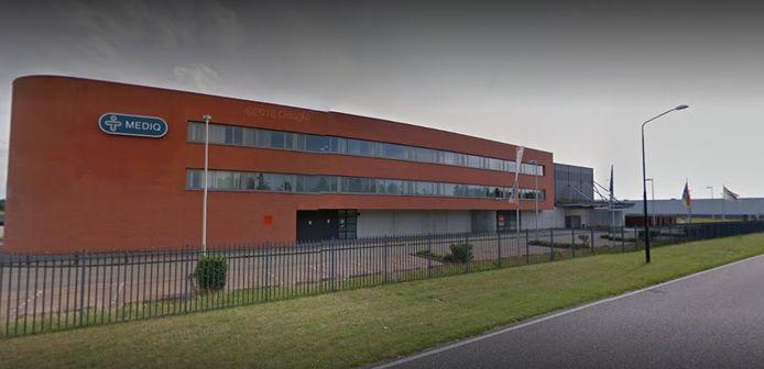 Het distributiecentrum van Brocacef (voorheen Mediq) op Vorstengrafdonk.