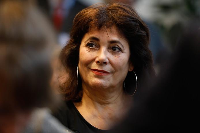 Leonie Sazias, nummer twee op de kieslijst van 50Plus voor de Tweede Kamerverkiezingen.