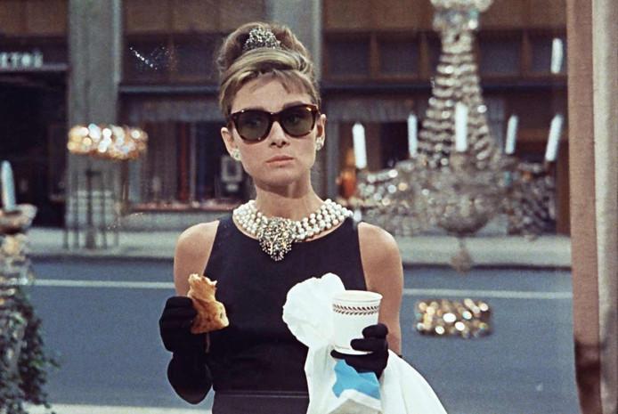 Breakfast at Tiffany's met Audrey Hepburn.
