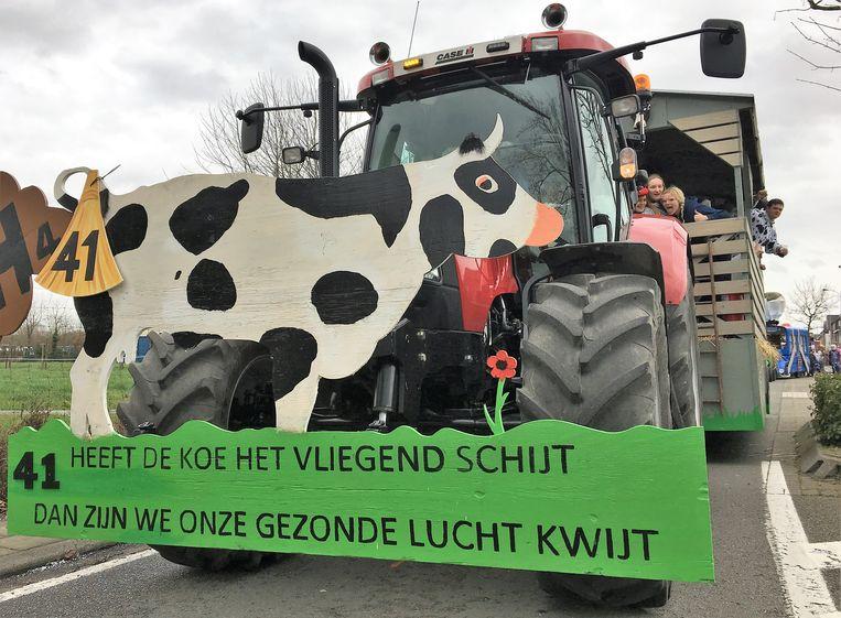 De vervuilende koe, van KLJ Rumbeke