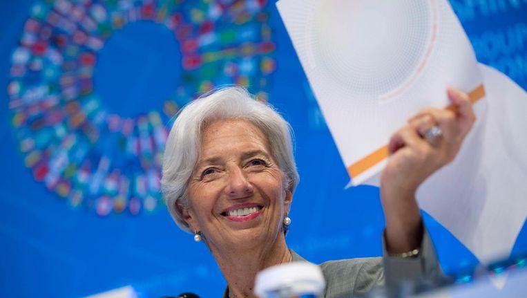 Christine Lagarde, directeur IMF Beeld null