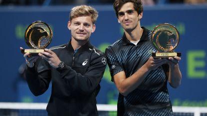 Goffin verovert eerste dubbeltitel bij comeback - Djokovic struikelt in halve finales in Doha