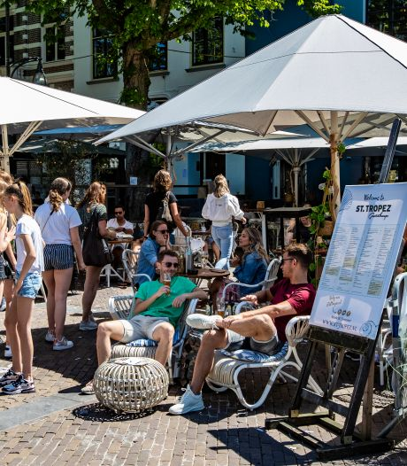 Deventer: probleemloze terrasopening, geen overtreding coronaregels